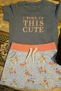 Other - Infant girl skirt outfit